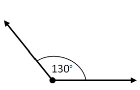 Learning Angles - Obtuse Angle