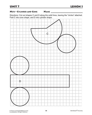 Characteristics of Solids - Printable Math Worksheet for Kids