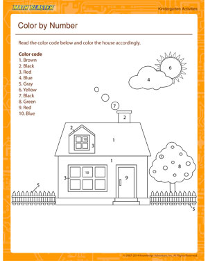 Free Math Activity for Kindergarten
