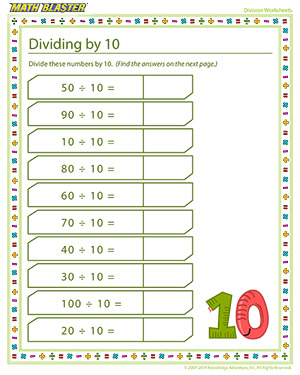 Making division fun for elementary grades