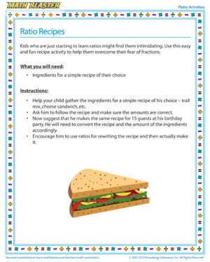 ratio-recipes  Rd Grade Math Worksheets Online Free on mixed review, times table, multiplication division, test practice, cut paste,