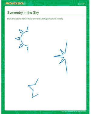 Free second grade geometry worksheet