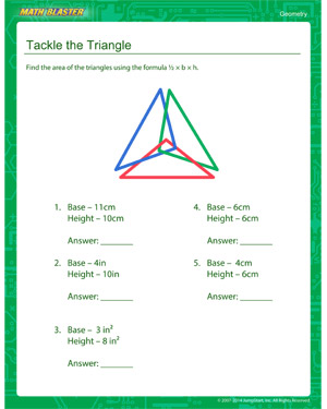 Free fourth grade geometry worksheet