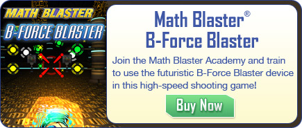 Math Blaster B-Force Blaster - Fun Math App for Kids