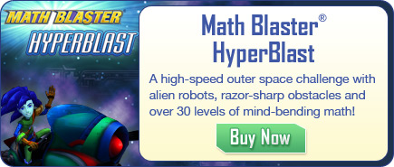 Math Blaster HyperBlast - Cool Mobile Math App for Kids