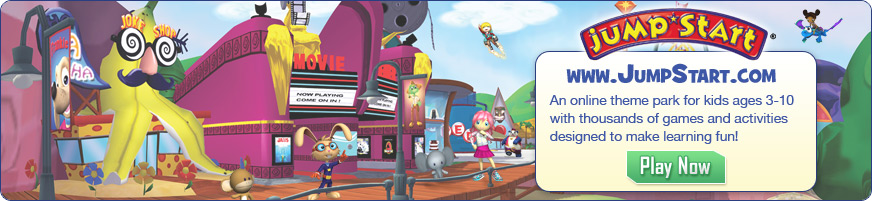 JumpStart - Online Adventure Based Learning Game for Kids