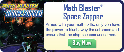 Math Blaster Space Zapper - Math Game for Mobile Devices
